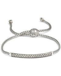 John Hardy - Classic Chain Pull Through Bracelet - Lyst