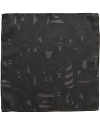 BOSS - Print Silk Pocket Square - Lyst