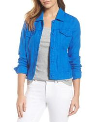 Tommy Bahama | 'two Palms' Linen Raw Edge Jacket | Lyst