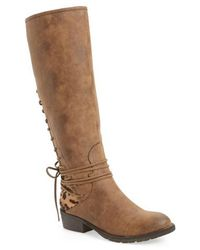 Very Volatile - Marcel Corseted Knee High Boot - Lyst
