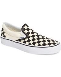 Vans - Classic Checker Sneaker - Lyst