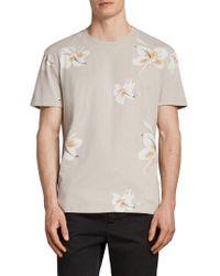 AllSaints - Lily Short Sleeve T-shirt - Lyst