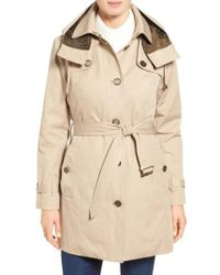 London Fog | Single Breasted Trench Coat | Lyst