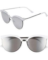 BP. - 57mm Round Sunglasses - - Lyst