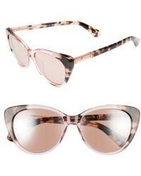 Kate Spade   Sherylyn 54mm Sunglasses   Lyst
