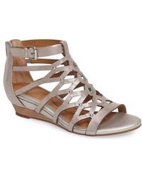 Söfft - Rosalyn Wedge Sandal - Lyst