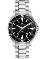 Hamilton   Khaki Automatic Bracelet Watch   Lyst
