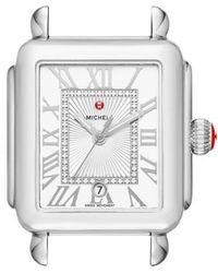 Michele - Deco Madison Diamond Dial Watch Case - Lyst