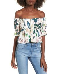 Stone Cold Fox - Monte Off The Shoulder Top - Lyst
