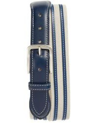 Allen Edmonds - Canvas Strap Belt - Lyst