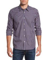Jeremy Argyle Nyc - Regular Fit Plaid Sport Shirt - Lyst