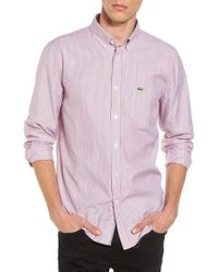 Lacoste | Button-down Sport Shirt | Lyst