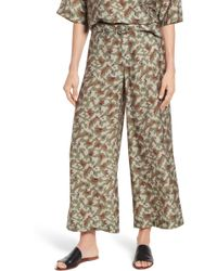 c723ecfcc9 Guess Nicci Split Front Palazzo Pant in Pink - Save 25% - Lyst
