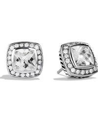 David Yurman - 'albion' Earrings With Semiprecious Stones & Diamonds - Lyst