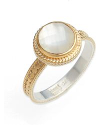 Anna Beck - Semiprecious Stone Ring - Lyst