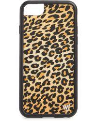 Wildflower - Leopard Print Iphone 6/7/8 Case - - Lyst