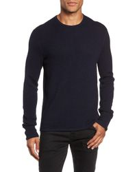 Rag & Bone - Gregory Wool Blend Crewneck Sweater - Lyst