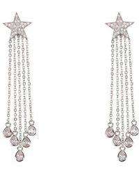Nina - Star Fringe Earrings - Lyst