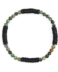 George Frost - Turquoise Bead Bracelet - Lyst