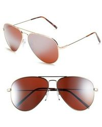 Electric - 'av1 Xl' 62mm Aviator Sunglasses - Lyst