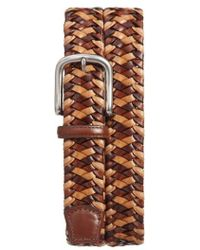 Torino Leather Company - Woven Leather Belt - Lyst