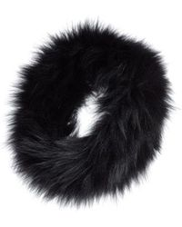 La Fiorentina - Genuine Fox Fur Headband - Lyst