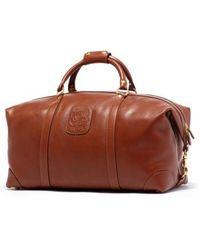 Ghurka - Cavalier Ii Leather Duffel Bag - Lyst