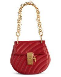 Chloé | Mini Drew Bijoux Leather Shoulder Bag | Lyst