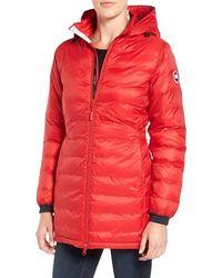 Canada Goose' PBI Camp Hooded Jacket