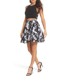 Blondie Nites - Two-piece Party Dress - Lyst