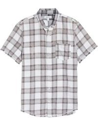 The Rail | Bleach Plaid Shirt | Lyst