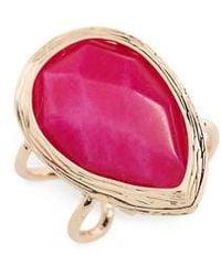 Panacea - Dyed Jade Ring - Lyst