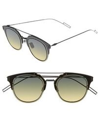 Dior Homme - 'composit 1.0s' 62mm Metal Shield Sunglasses - Lyst