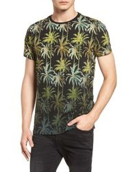Scotch & Soda - The Poolside Print T-shirt - Lyst