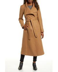 Kenneth Cole - Fencer Melton Wool Maxi Coat - Lyst