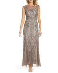 Pisarro Nights - Illusion Neck Sequin Gown - Lyst