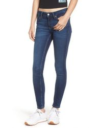 Calvin Klein - Super Skinny Jeans - Lyst