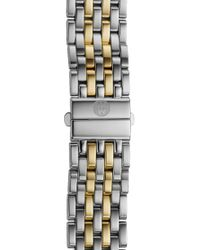 Michele - Deco 16 16mm Two-tone Bracelet Watchband - Lyst