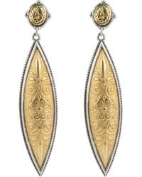 Konstantino - Gaia Drop Earrings - Lyst
