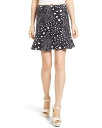 The Fifth Label - Lagoon Polka Dot Miniskirt - Lyst