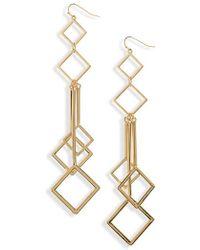 Natasha Couture - Geometric Statement Earrings - Lyst