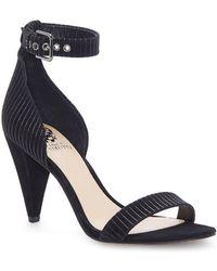 910975e95438 Lyst - Vince Camuto Onyx Women Us 9 Blue Platform Sandal in Blue