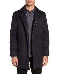 W.r.k. - Kilo 3-in-1 Peacoat With Removable Quilted Jacket - Lyst