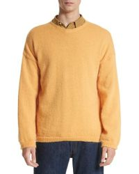 Our Legacy - Mohair Blend Crewneck Sweater - Lyst