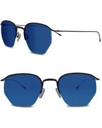 Smoke X Mirrors - Geo I 51mm Semi Rimless Sunglasses - Lyst