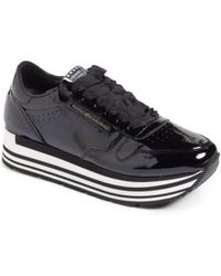 KENNEL & SCHMENGER - Kennel & Schmenger Nova Patent Leather Sneaker - Lyst