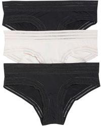 Honeydew Intimates - Micki 3-pack Hipster Panties, Black - Lyst
