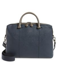 Ted Baker - Trough Crossgrain Document Briefcase - Lyst