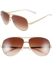 0197f75328eb Lyst - Tory Burch Eclectic Sunglasses - Tortoise Brown Gradient in Brown