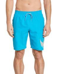 6df2d3cdb Nike Basketball Shorts in Blue for Men - Lyst